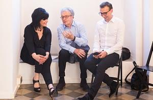 Anna Guillot, Armando Milani, Gianni Latino_ph. Egidio Liggera