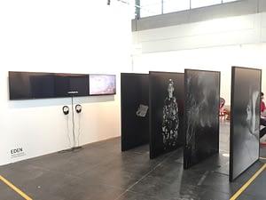 Anush Hamzehian Vittorio Mortarotti - Eden - Art Verona - Ottobre 2015